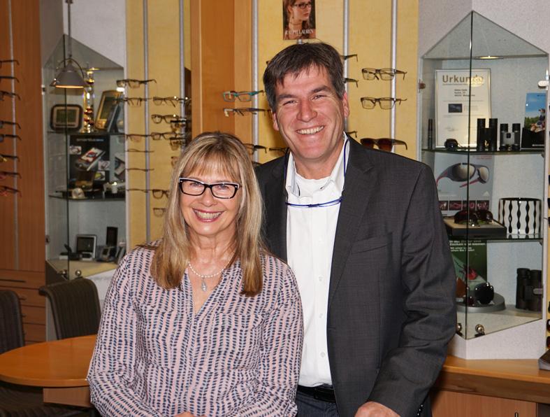 Optiker Böhler Weingarten Birgit und Harald Buchter